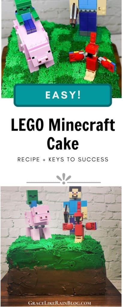 LEGO Minecraft Cake