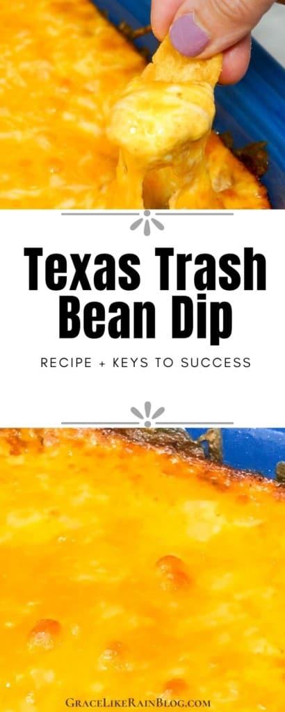 Texas Trash Bean Dip