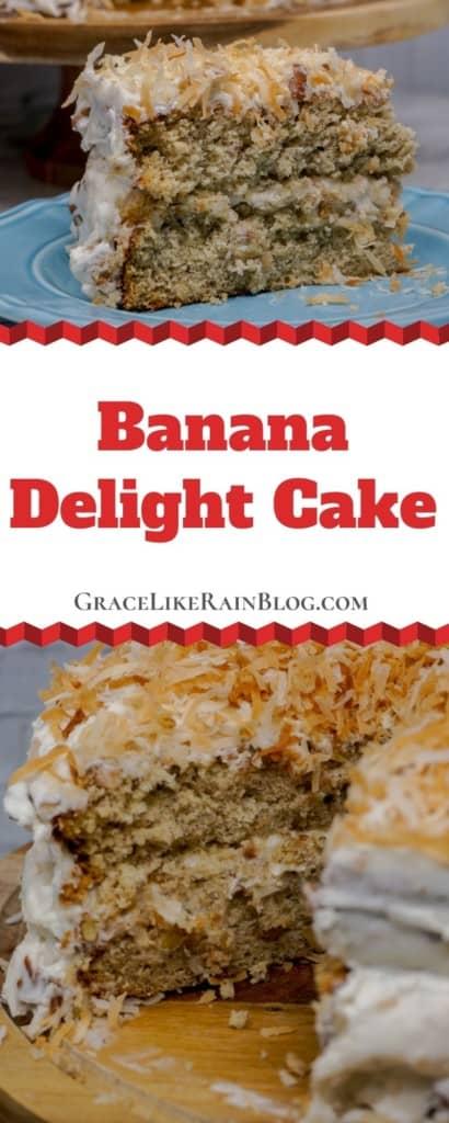 banana delight layer cake
