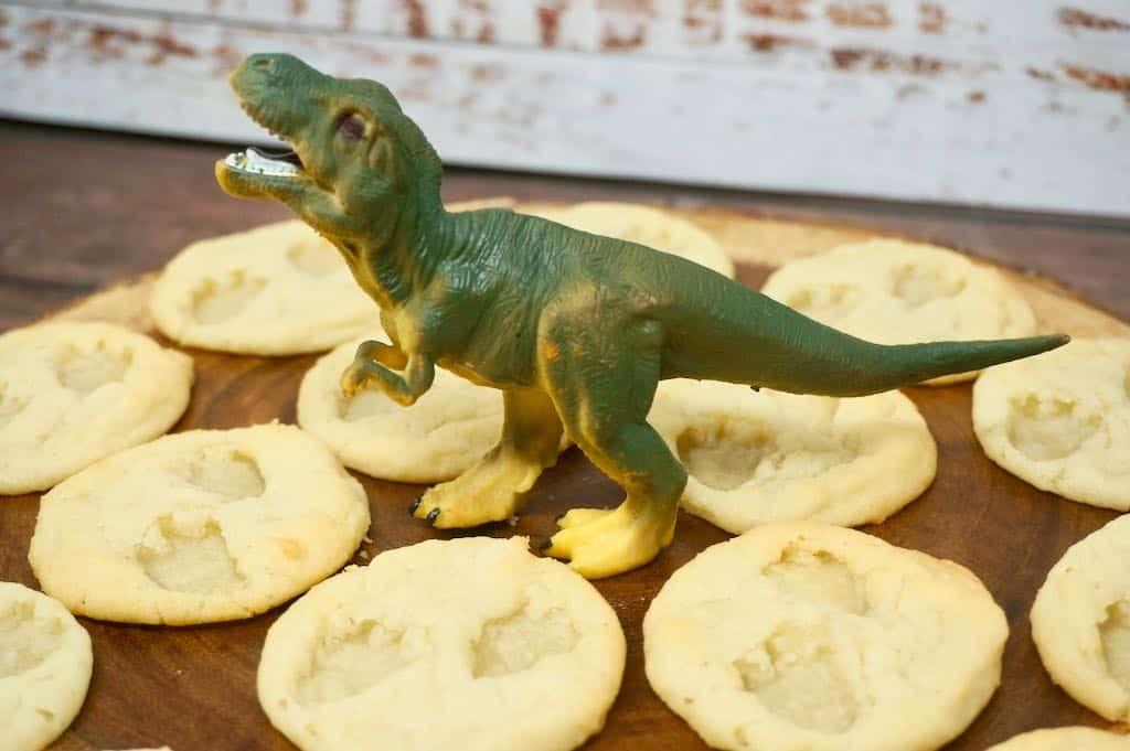 Dinosaur Fossil Cookies