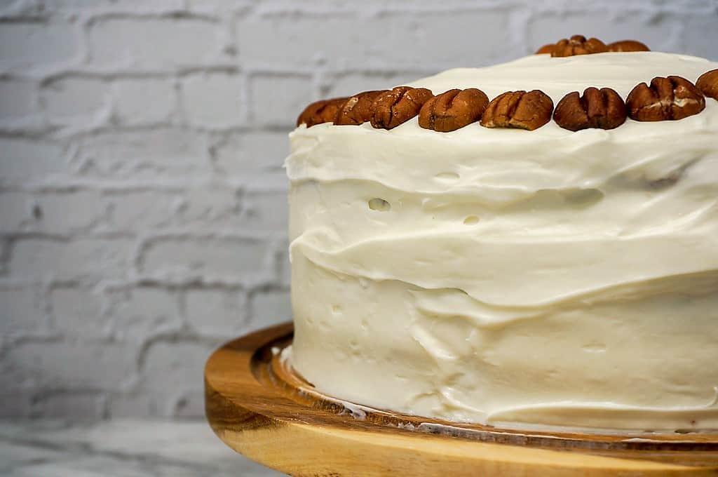 hummingbird cake with cream cheese buttercream