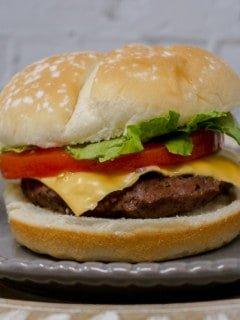 Sous Vide Hamburger