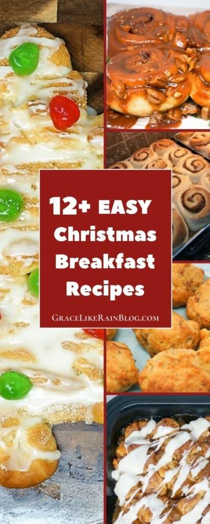 12 Easy Christmas Breakfast Recipes