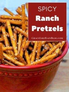 Spicy Ranch Pretzels