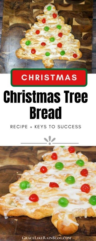 Christmas Tree Breakfast Bread