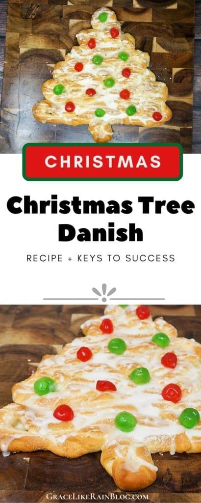 Christmas Tree Danish