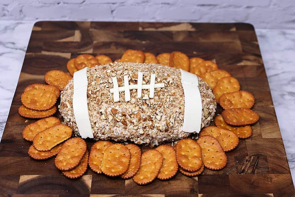 Football Chicken Cheese Ball