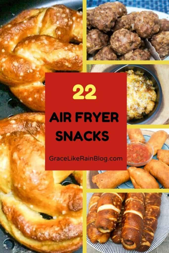 AIr Fryer Snack Recipe Round Up