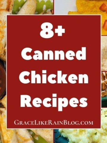 Canned Chicken Recipe Roundup