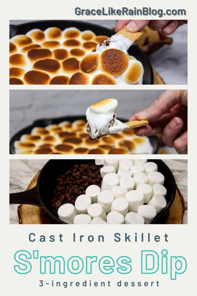 Cast Iron Skillet S'mores