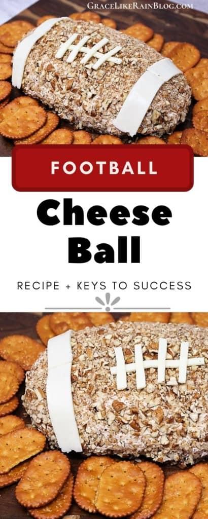 Football Ranch Flavored Cheese Ball