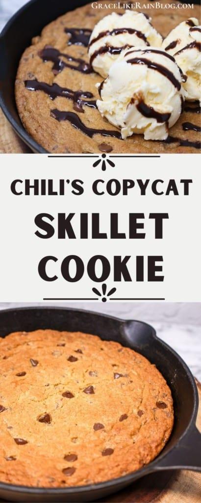 Chili's Copycat Skillet Cookie