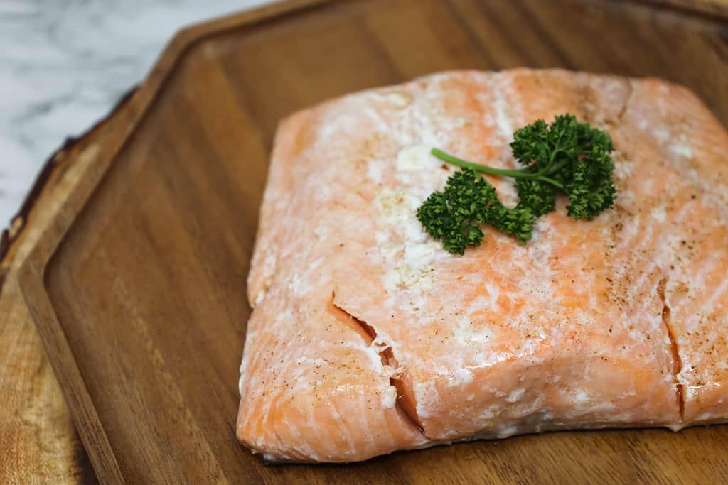 Sous Vide Salmon Steaks