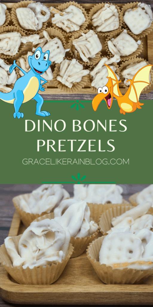 Dino Bones Pretzels