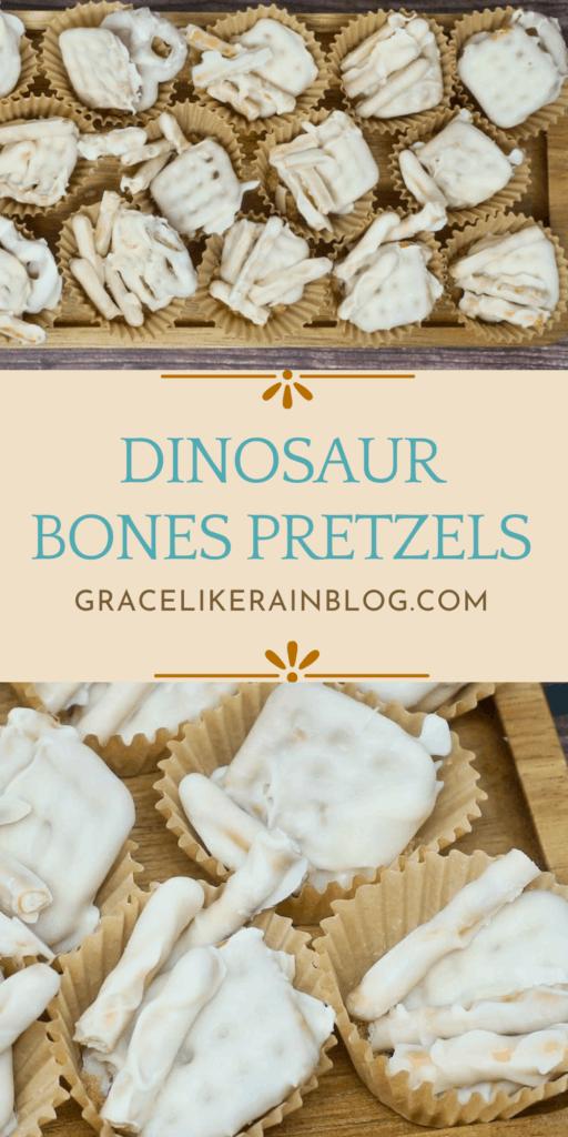 Dinosaur Bones Pretzels