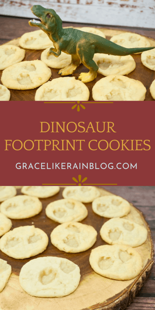 Easy Dinosaur Footprint Cookies