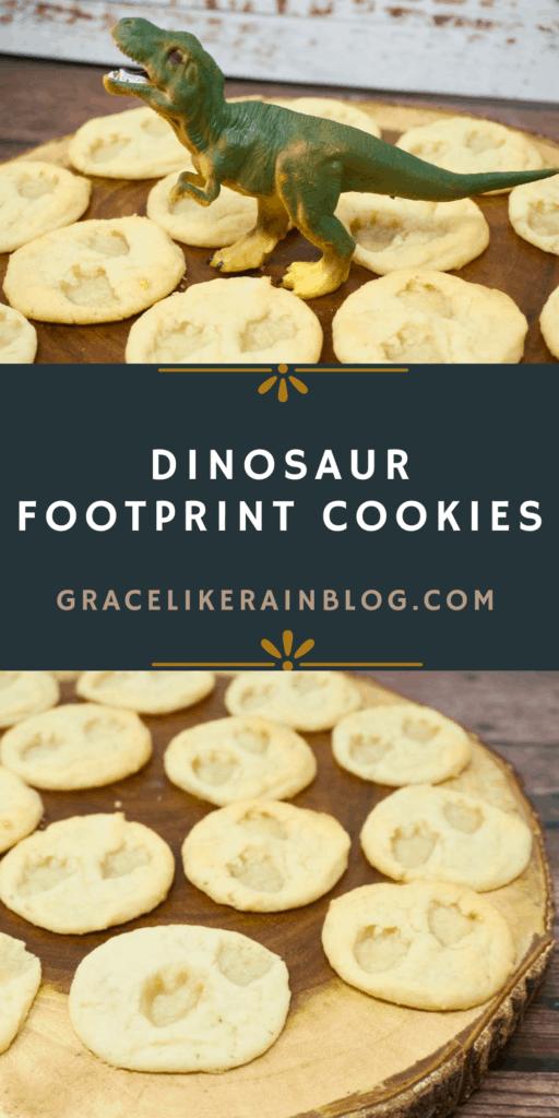 Dinosaur Footprint Sugar Cookies