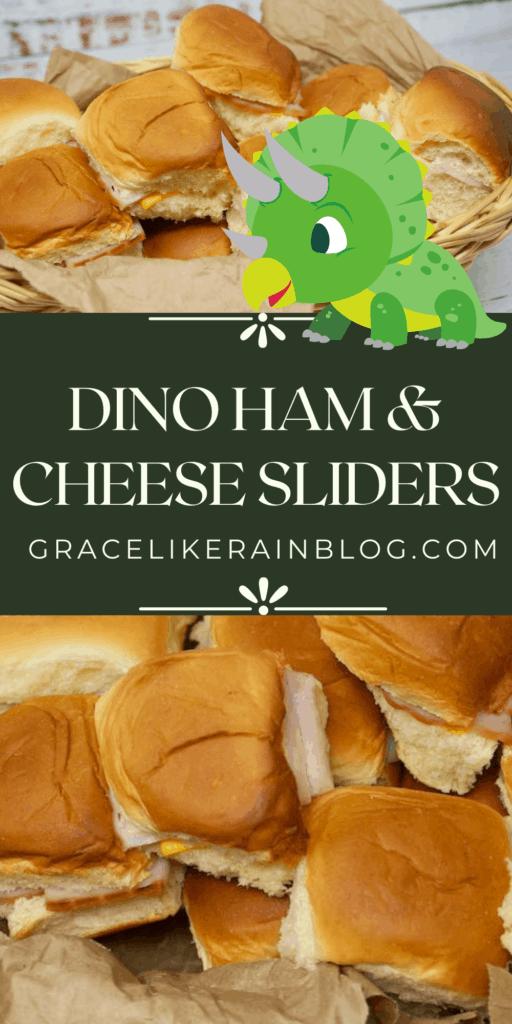 Dino Ham and Cheese Sliders