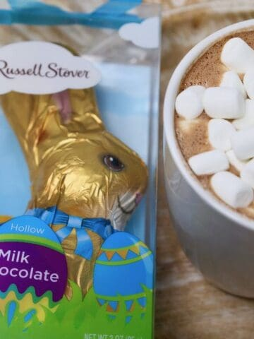 Easter Bunny Hot Cocoa Bombs