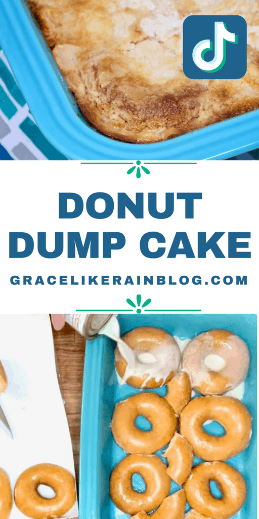 Tik Tok Viral Donut Dump Cake