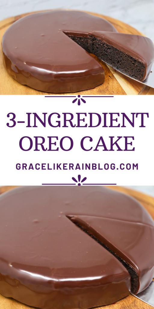 3-Ingredient Oreo Cake in the Air Fryer