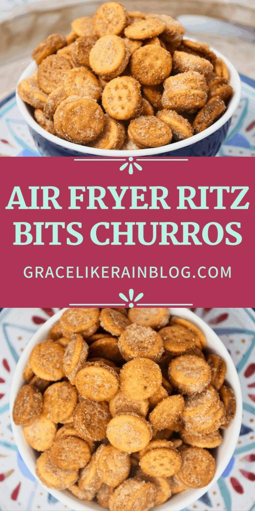 Air Fryer Ritz Bits Churros