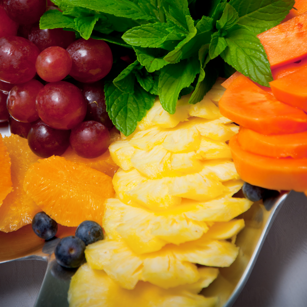 breakfast fruit options for vacation