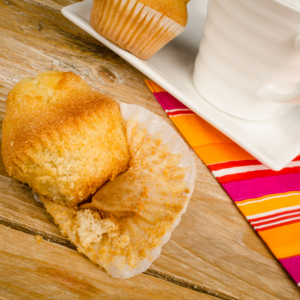 muffins for breakfast