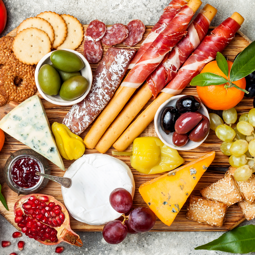 Vacation Lunch Ideas Charcuterie Board