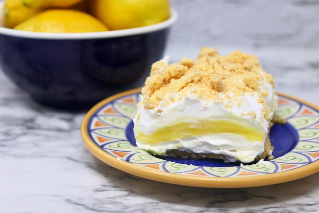 Lemon Delight Layered Dessert