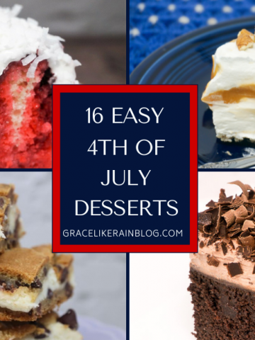 16 Super Easy 4th of July Dessert Recipes to Try This Year