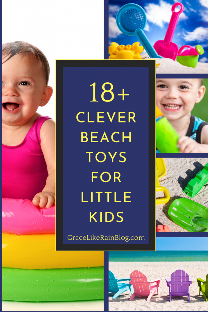 18 Clever Beach Toys for Little Kids and Todlers