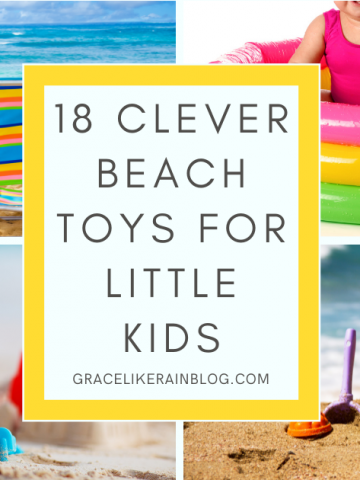 Clever Beach Toys for Little Kids