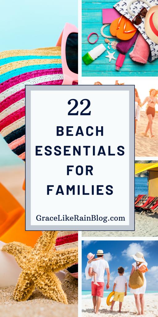 22 Beach Essentials for Families