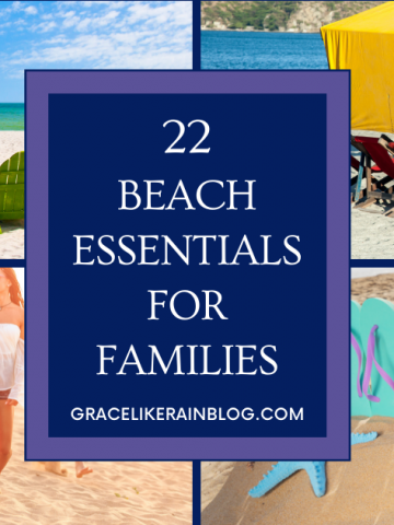 Beach Essentials for Families