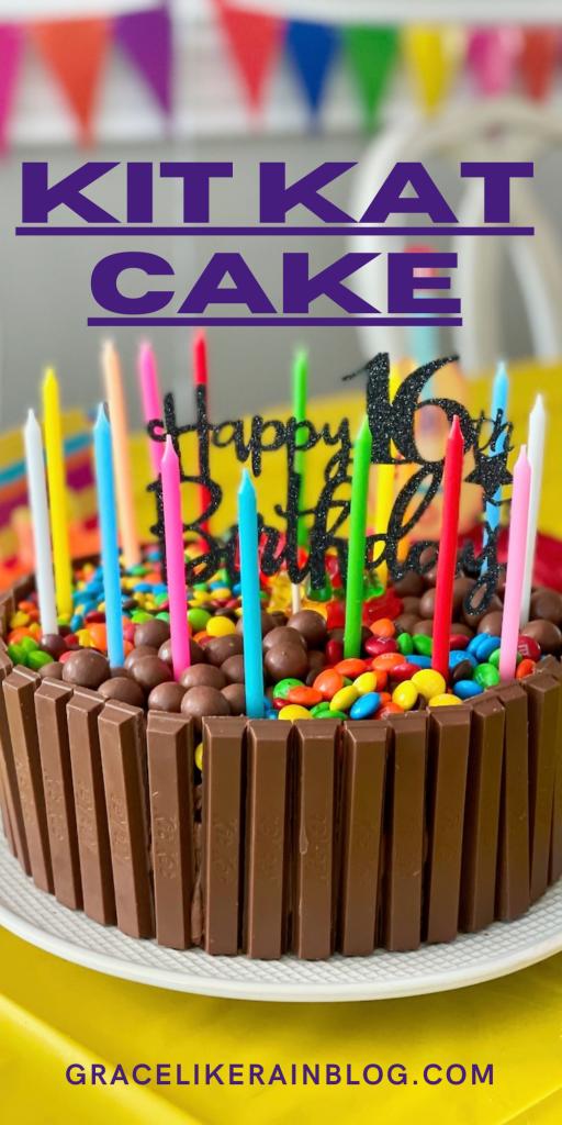 Kit Kat Cake recipe