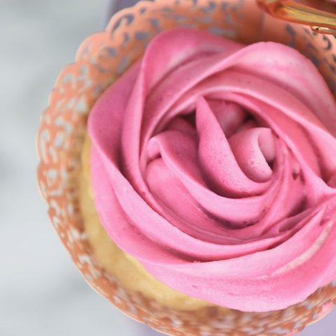Triple Pink Cupcakes