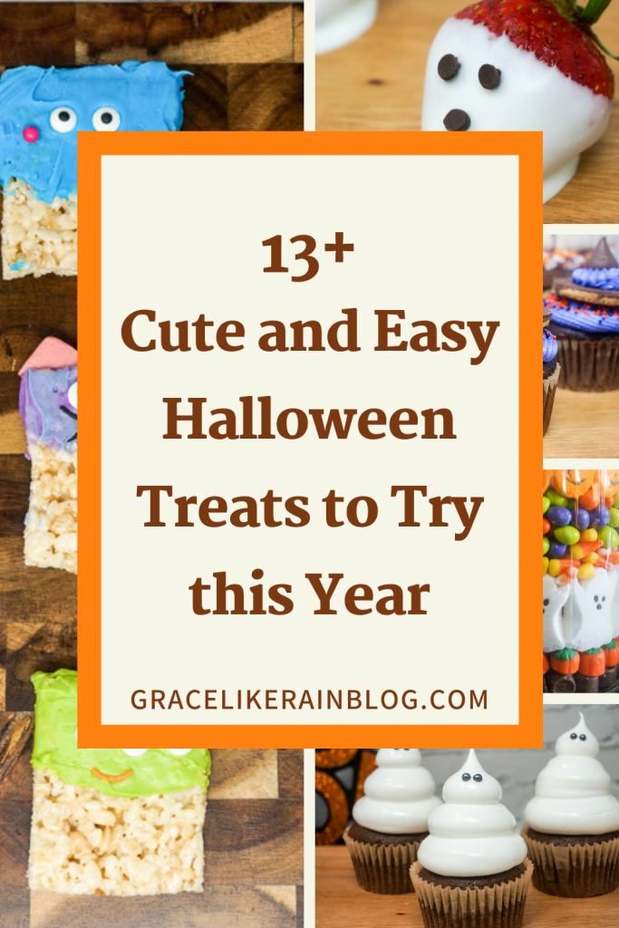 13+ Cute and Easy Halloween Treats to Try This Year