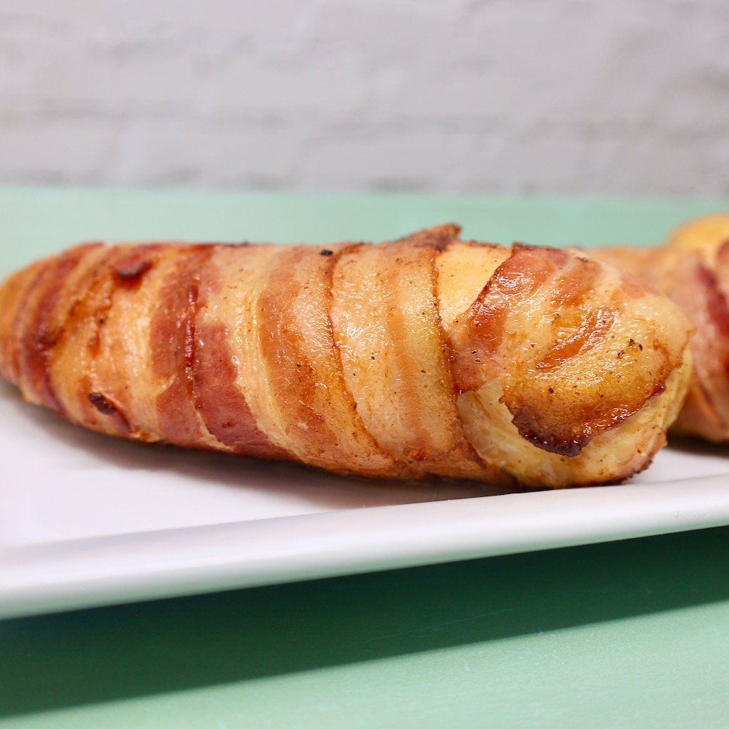 Grilled Bacon Wrapped Chicken Breast